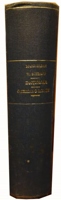 Dictionar germano roman