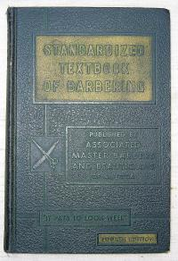 Standardized textbook of barbering 1950